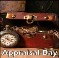 Oct. 17th, (Tuesday), 2017 - Appraisal & Consignment Day for your Heirlooms and Treasures!